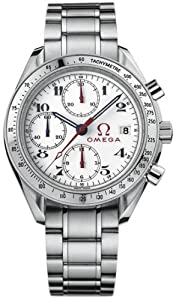 Speedmaster Stainless Steel Case and Bracelet White Dial Chronograph Automatic