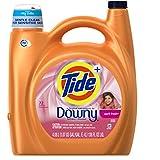 Tide He Turbo Clean Plus Downy Liquid Laundry Detergent, April Fresh, 138.0 Ounce