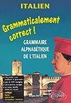 Italien : Grammaire alphab�tique de l...