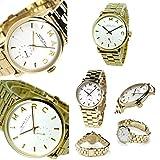 (マークバイマークジェイコブス) MARC BY MARC JACOBS マークバイマークジェイコブス 時計 MARC BY MARC JACOBS MBM3243 ベイカー 腕時計 ウォッチ イエローゴールド/ホワイト [並行輸入品]