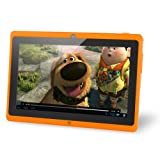 NORIA JR. 8GB 7 Tablet, Android Jellybean 4.1, Dual Camera, HDMI, 3G Capable, Dual Core 1.2 GHz- Orange