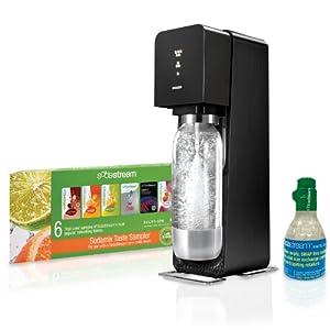 SodaStream Source Home Soda Maker Starter Kit, Black