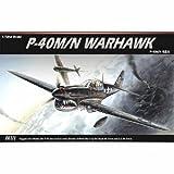 [Academy] Plastic Model Kit 1/72 Curtiss P-40M/N WARHAWK (#12465) /item# G4W8B-48Q43108