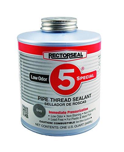 rectorseal-26390-quart-brush-top-no5-special-pipe-thread-sealant-pack-of-12