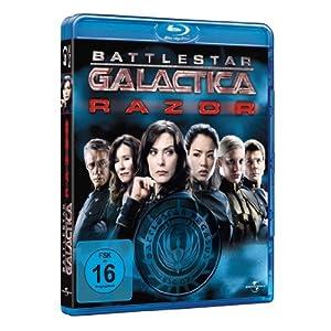 Battlestar Galactica - Razor [Blu-ray] [Import allemand]