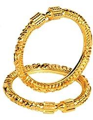 Senco Alankar Pure 24K Gold Bangle Set For New Trand Women & Girls