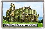 Sandsfoot castle weymouth Gift Souvenir Fridge Magnet