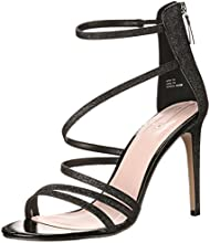 Aldo Women's DEZORAE Sandal, Black Miscellaneous, 10 B US