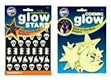 The Original Glowstars Company Cosmic Glow Moon/ Stars and Glow Spooky