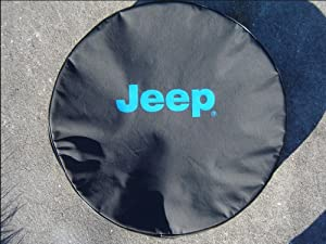 SpareCover® Brawny Series – Jeep® 30 Blue logo Tire Cover