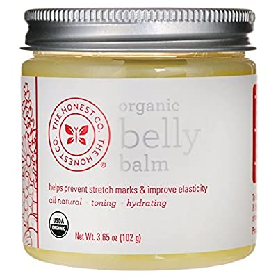 The Honest Company Organic Belly Balm 3.65 oz (102 Grams)