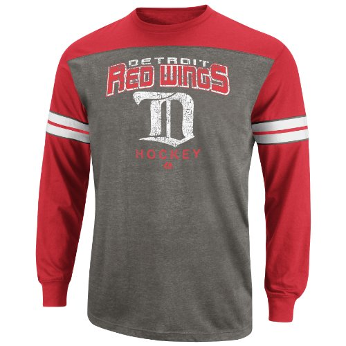 NHL Mens 1926-1928 Detroit Red Wings Ath Red/Ath