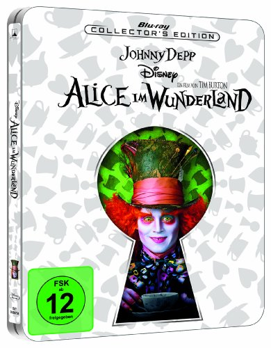 Alice im Wunderland - Steelbook [Blu-ray] [Collector's Edition]