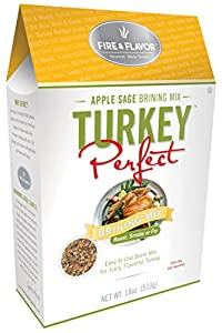 Fire & Flavor Turkey Perfect Apple Sage Brining Mix