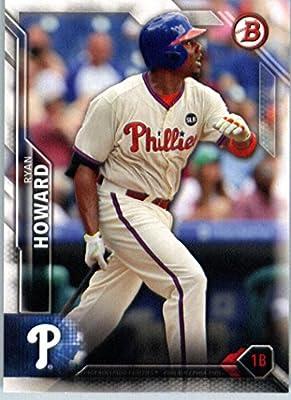 2016 Bowman #66 Ryan Howard Philadelphia Phillies Baseball Card