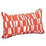 Majestic Home Goods Sticks Pillow, Small, Salmon