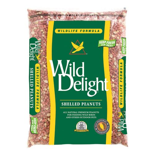 Wild Delight 380250 Shelled Peanut Wild Bird Barrier Food Bag, 20-Pound