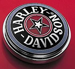 Harley-Davidson Willie G. Skull Chrome Decorative Medallion