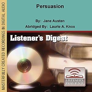 Persuasion Audiobook