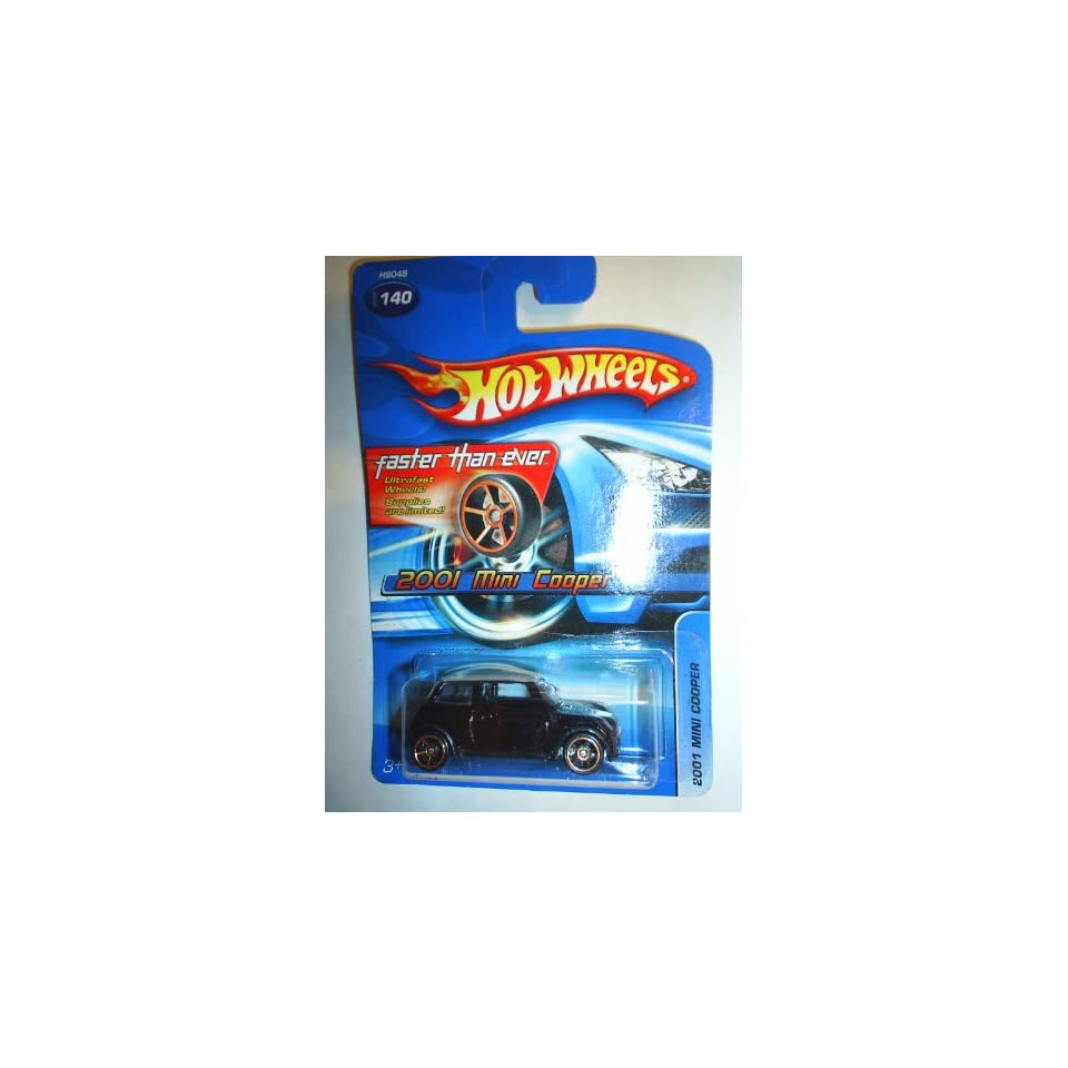 #2005 140 2001 Mini Cooper Faster Than Ever Wheels Collectible Collector Car Mattel Hot Wheels 164 Scale