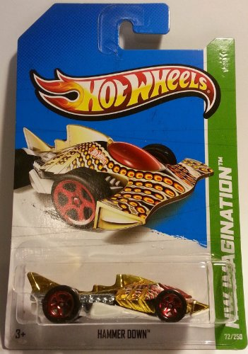 2013 Hot Wheels Hw Imagination Hammer Down 72/250 - 1
