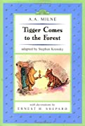 Tigger Comes to the Forest: Winnie-the-Pooh Easy-to-Read (Dutton Easy Reader) by A. A. Milne, Stephen Krensky cover image