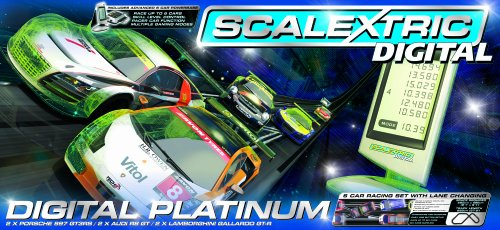 Scalextric Digital C1276 Platinum 1:32 Scale Race Set