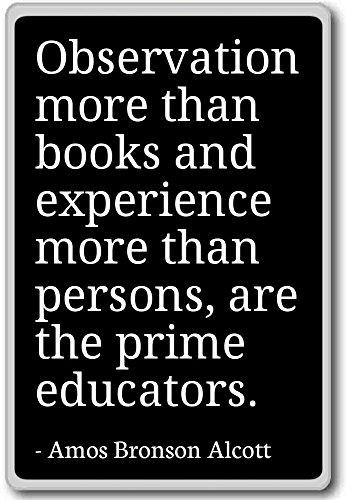 observation-more-than-books-and-experie-amos-bronson-alcott-fridge-magnet-black
