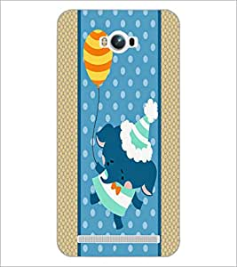 PrintDhaba Cartoon D-3363 Back Case Cover for ASUS ZENFONE MAX ZC550KL (Multi-Coloured)