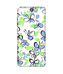 Butterfly Paint Doodles HTC One A9 Case