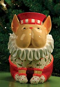 Patience Brewster French Bulldog Cookie Jar