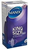 Manix - Préservatifs King Size - 12 Préservatifs