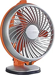 Luminous Buddy 230mm 55-Watt High Speed table Fan (Royal Orange)
