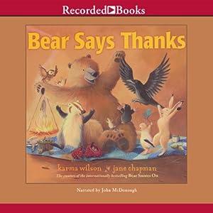 Bear Says Thanks Audiobook