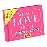 This little book contains fill-in-the-blank lines describing some aspect of your affection for your beloved. Just complete each line and voilà: you have a uniquely personal gift your loved one will read again and again. Make it as mushy, racy...