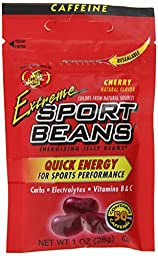 Jelly Belly Cherry Sport Jelly Beans, 1-Ounce (Pack of 24)