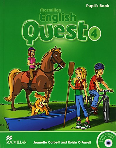 Macmillan English Quest 4 Student Book Pack