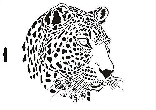 umr-design-w-002-leopard-wand-textilschablone-grosse-a4