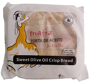 Amazon.com: Matiz Andaluz Torta de Aceite, Sugared, 6