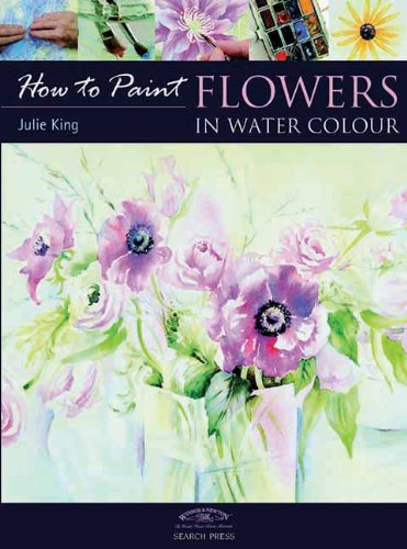 Flowers in Water Colour (How to Paint)
