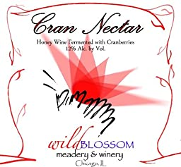 NV Wild Blossom Meadery & Winery Cran Nectar Mead 750 mL