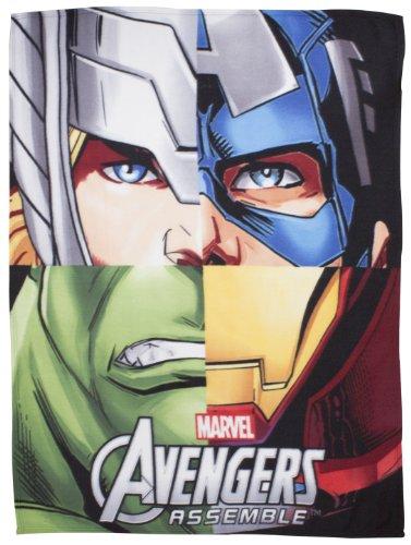 Character World Disney Marvel Avengers Team Fleece Blanket, Multi