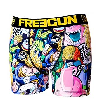 Freegun - Sous-vêtement homme -Freegun boxer homme premium DBZ - BOO (S)