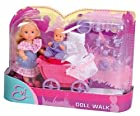 Evi Love Mommy & Baby in stroller with 12 accessories