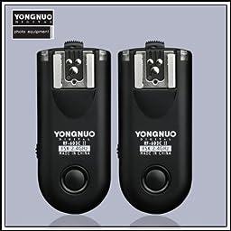 Yongnuo RF-603II RF-603 II c1 Version Flash Trigger Shutter Release Sync Speed Up To 1/320s for Canon 1100D / 1000D / 700D / 650D / 600D / 550D / 500D / 450D / 400D / 350D / 300D / 60D