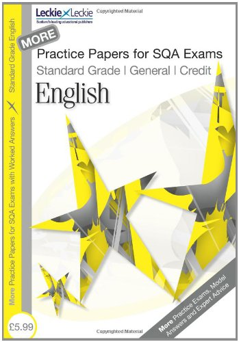 english writing past papers standard grade
