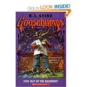 goosebumps stay out of the basement r l stine 9780439568456 books