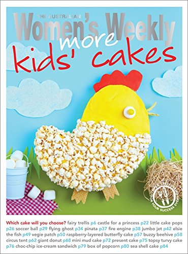 More Kids' Cakes (The Australian Women's Weekly Essentials)