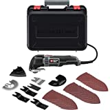 PORTER-CABLE PC250MTK 2.5-Amp Oscillating Multi-Tool Kit with 36 Accessories