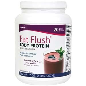Fat Flush Body Protein - Pea & Rice Protein Powder
